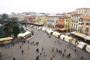View over Piazza Bra