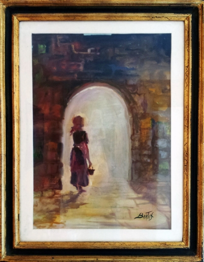 The Girl in the Archway