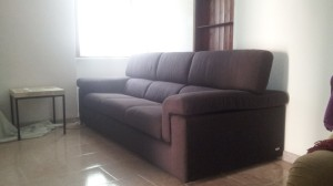 The new sofa