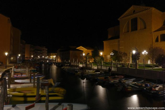 This is Chioggia at night...