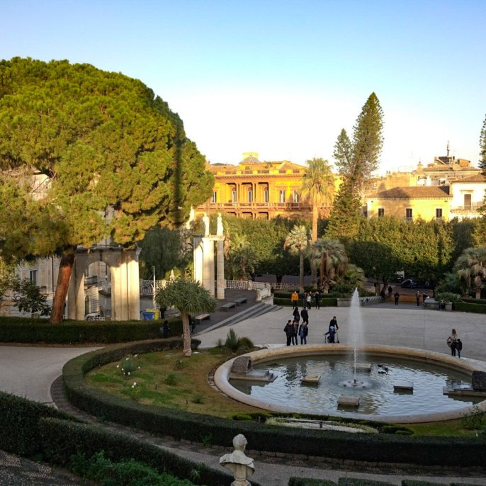 Park called Villa Bellini